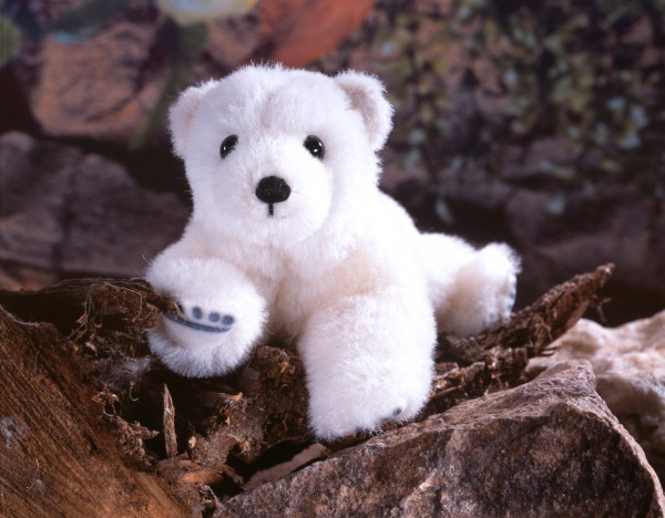 "Eisbärbaby ""Nurri"", Alpaca, limitiert"