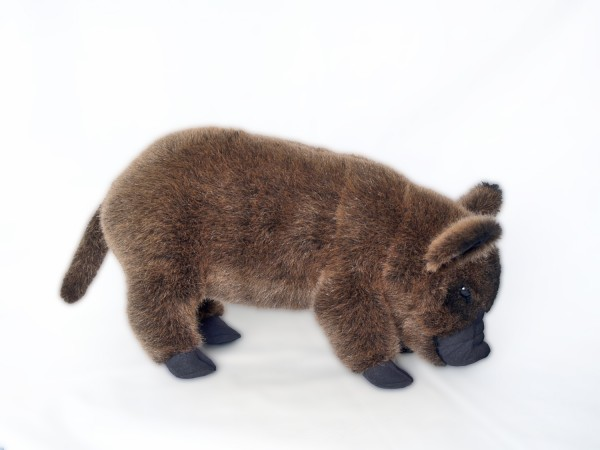 Micro Pig Mohair, braun