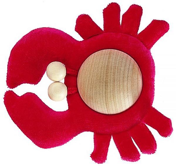 Krabbe, rot