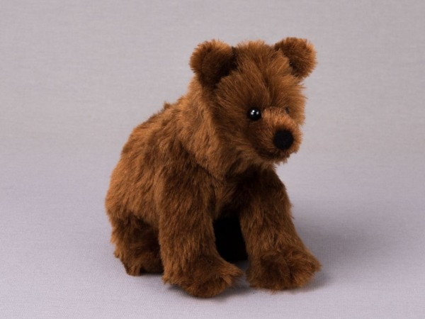 """Bär """"Holly"""", sitzend, Mohair"""