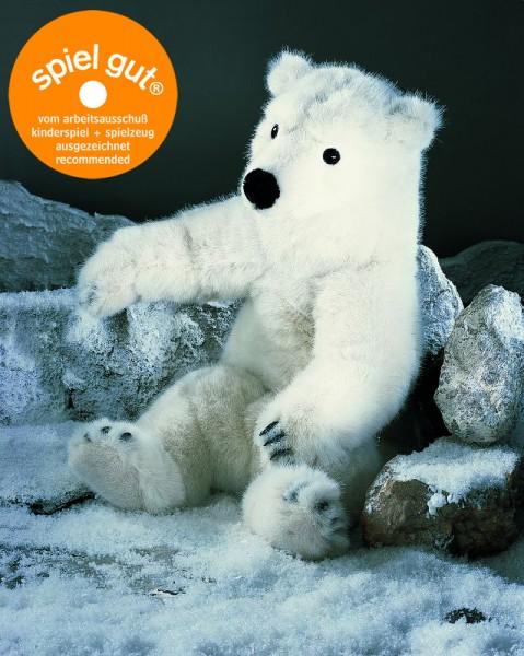 "Eisbär ""Lasse"", sitzend"