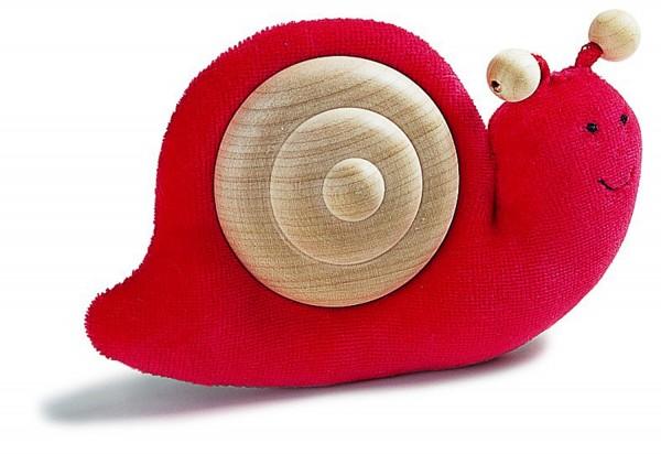 Schnecke, rot