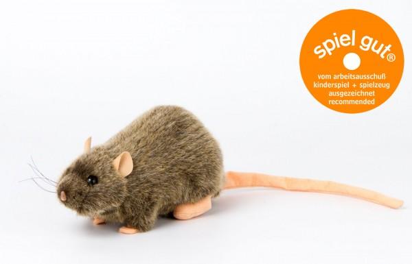 """Ratte """"Rille"""", braun, sitzend"""