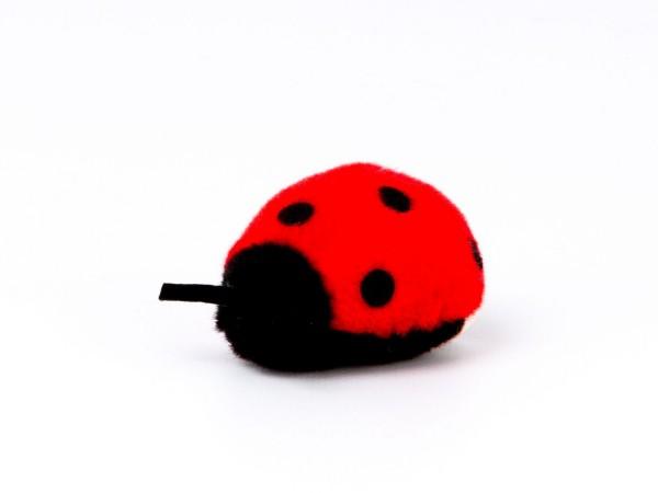 Marienkäferchen, rot
