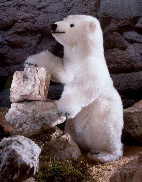 """Eisbär """"Schmuddel"""", Alpaca, limitiert"""